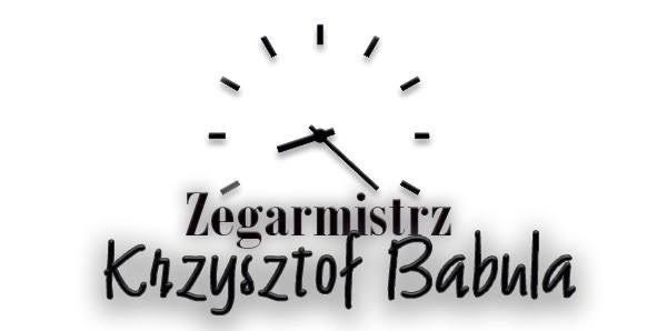 Zegarmistrz Krzysztof Babula